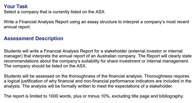 mba403 financial and Economics assignment question