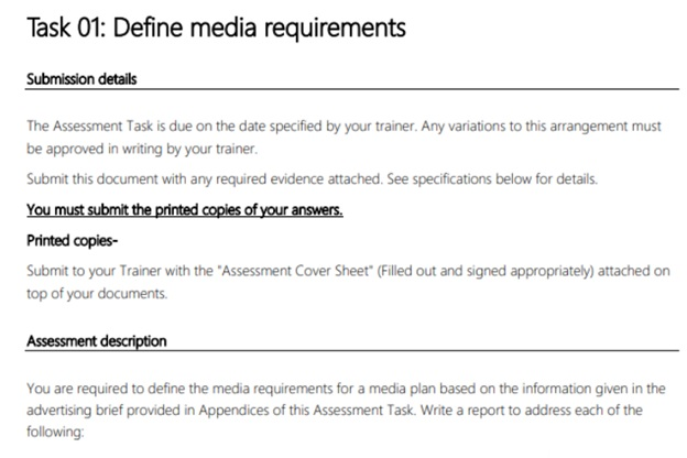 media-audiences assignment