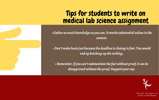 medical lab science assignment