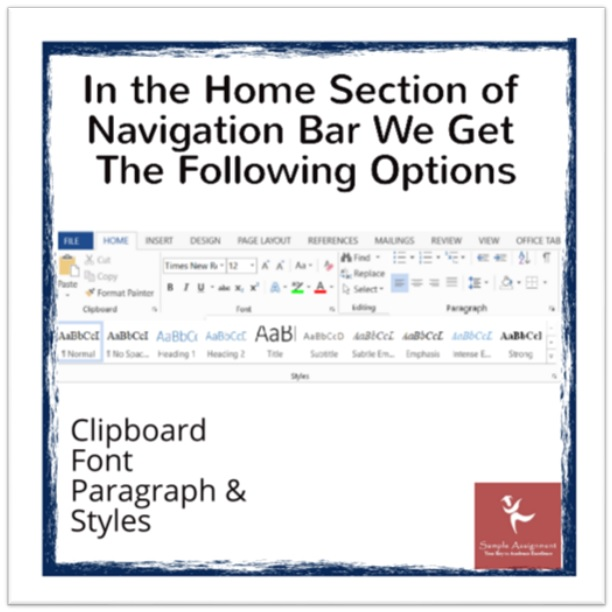 microsoft word assignment sample