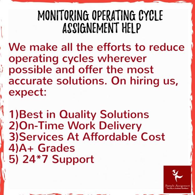 monitoring operating cycle