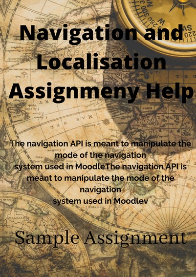 navigation and localisation assignment help