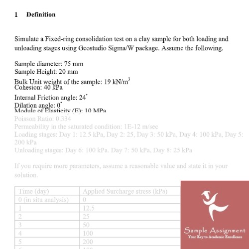 numerical analysis assignment