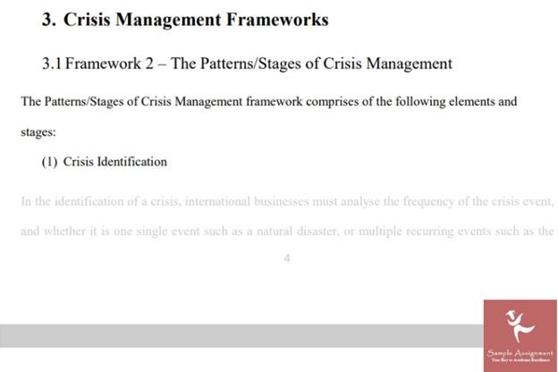 risk assessment sample