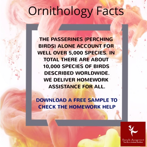 ornithology facts