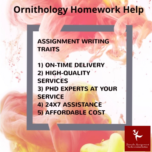 ornithology homework help