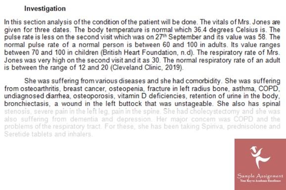 osteoporosis nursing
