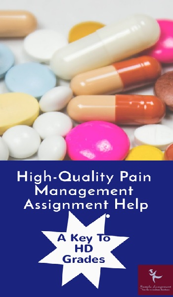 Pain Management Assignment Help