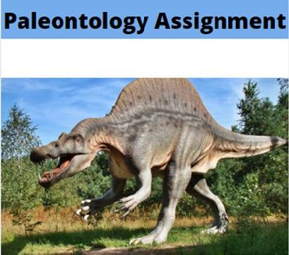 paleontology assignment help