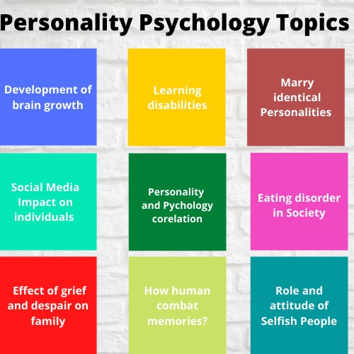 personality psychology assignment help