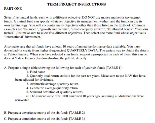portfolio management assignment task sample
