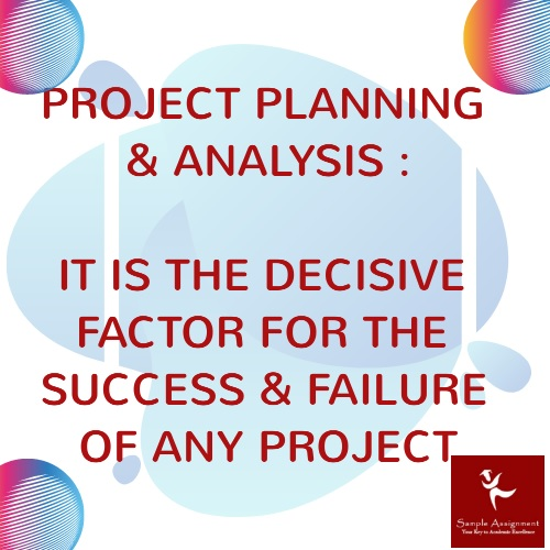 project planning and analysis assignment help