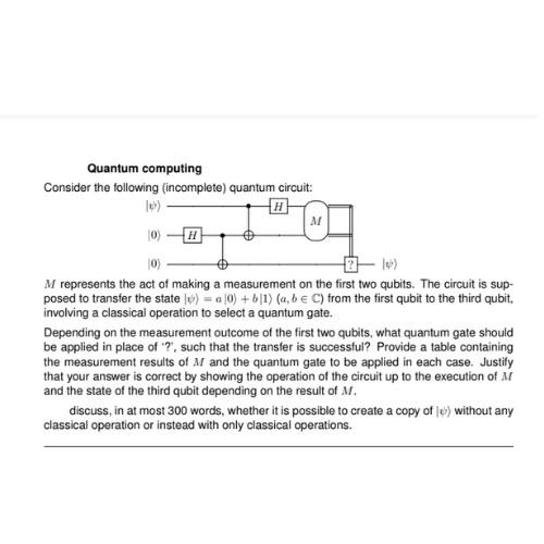 quantum computing assignment experts