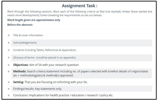 question on dissertation conclusion