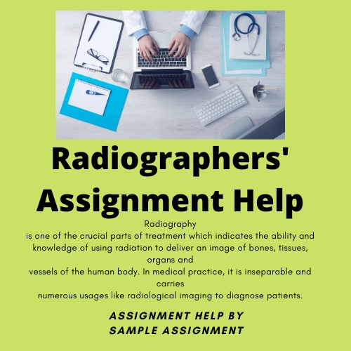 radiographers assignment help