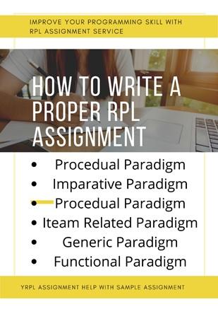 rpl assignment help