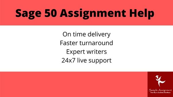 sage 50 assignment help