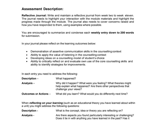 social science assignment sample online