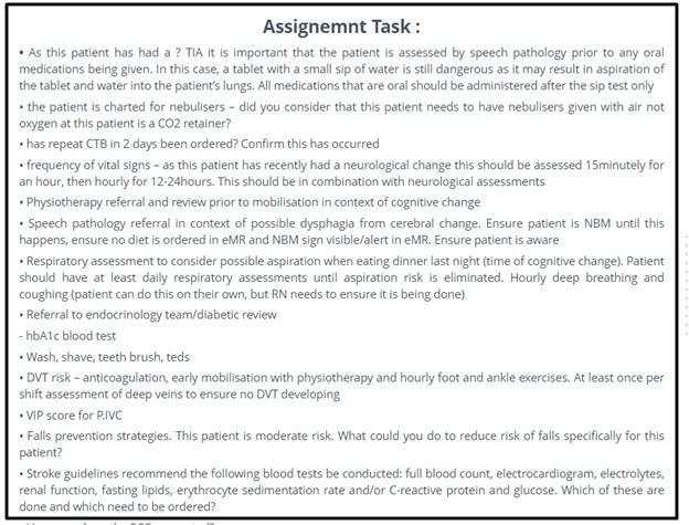 speech pathology assignment question sample