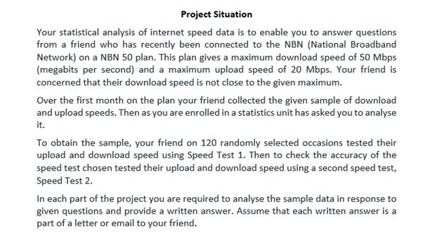 statistics exam help