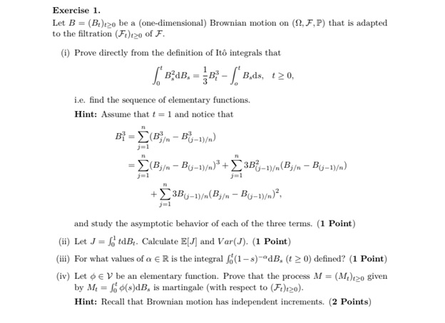 stochastic processes assignment experts