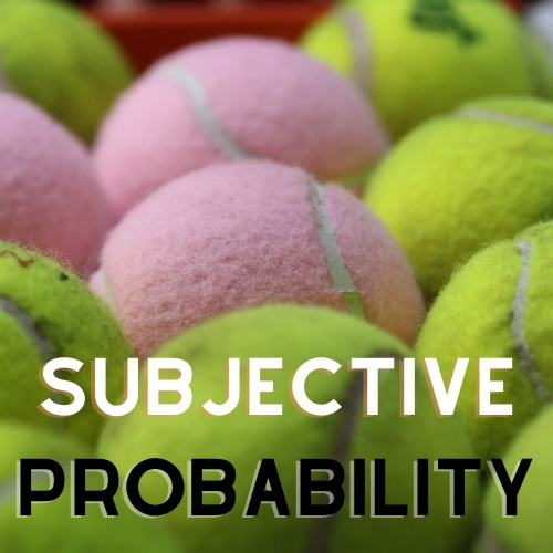 subjective probability assignment help