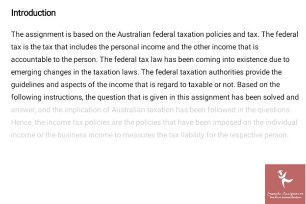 tax adjustment assessment solution