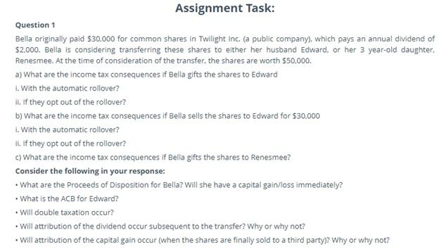 tax adjustment assignment help