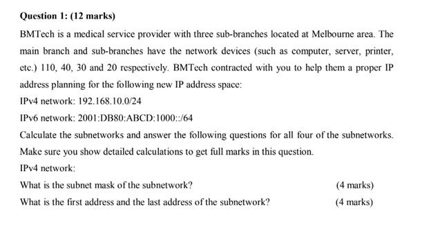 TCP/IP Networking Homework Help