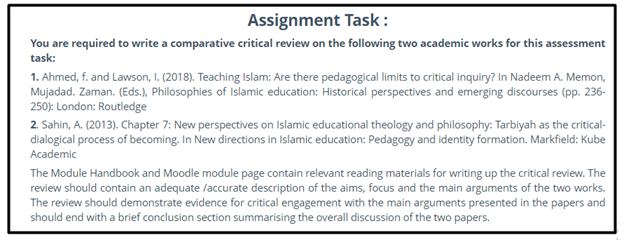 theology assignment task