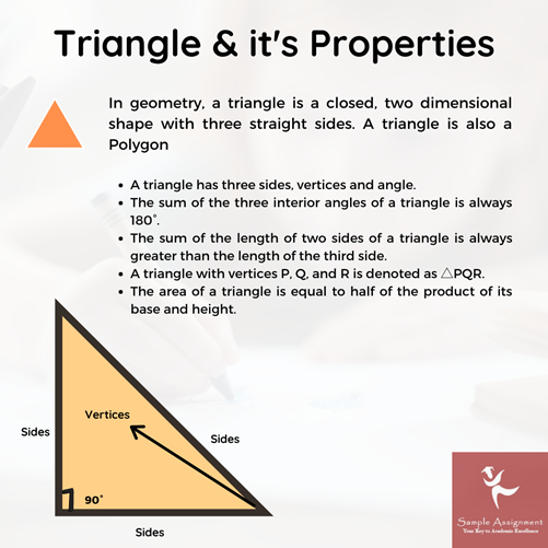 homework help on properties of triangle