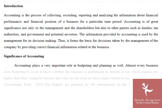 variance accounting academic assistance through online tutoring