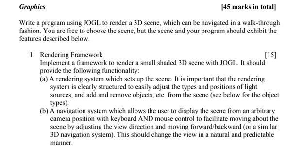 visual computing assignment