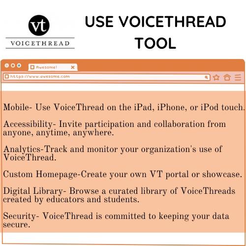 voicethread tool