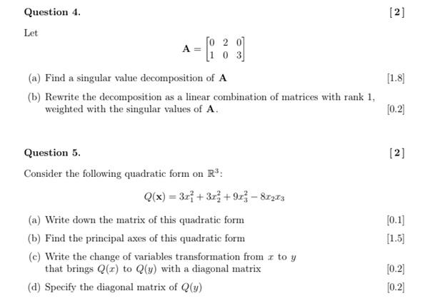 abstract algebra homework question sample