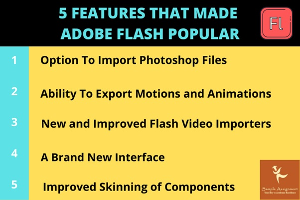 adobe flash features