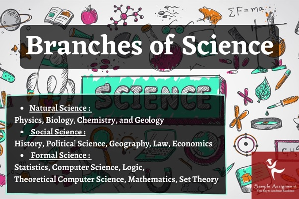 branches of science USA