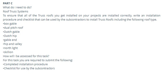 building contruction assignment question example