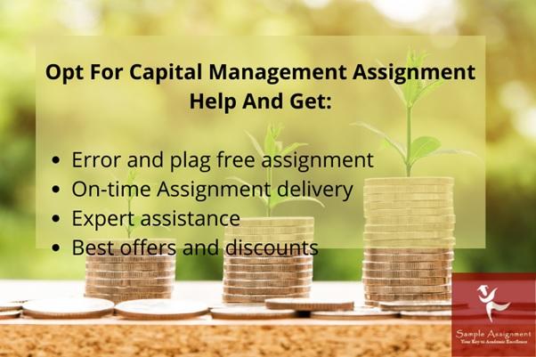 capital management assignment help