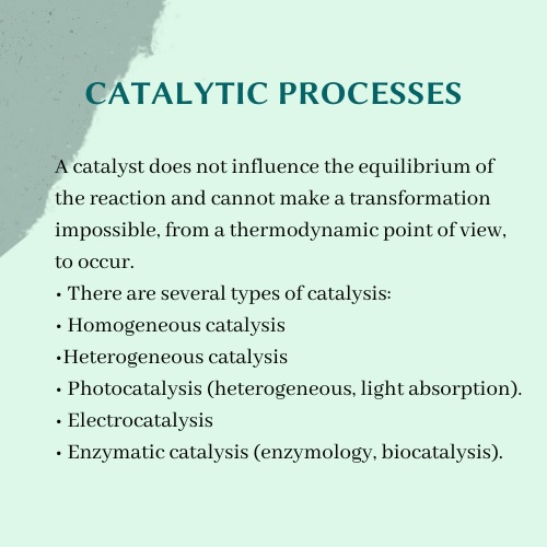 catalytic processes assignment help UK