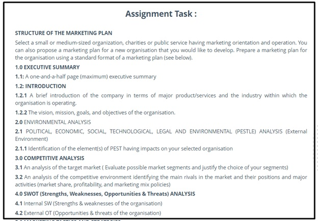 common assignment questions on organisational change