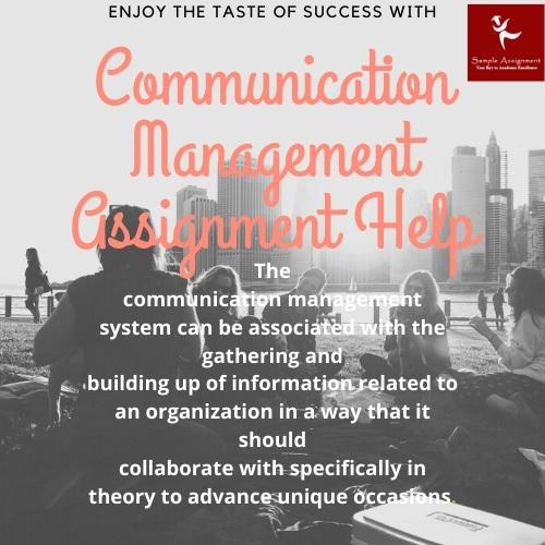 communication management academic assistance through online tutoring
