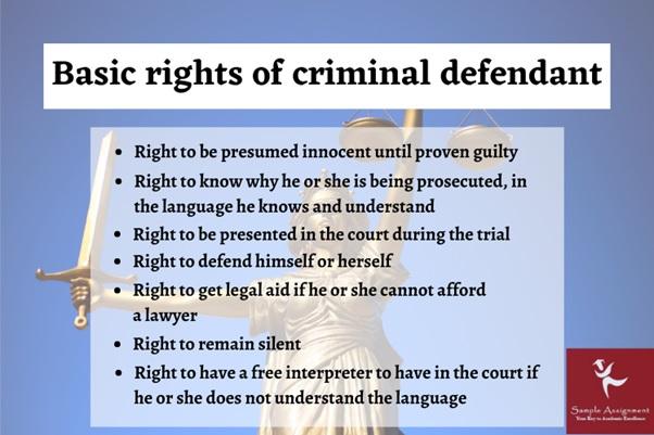criminal defendent