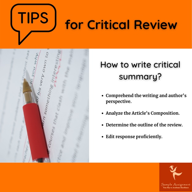 critical review tips