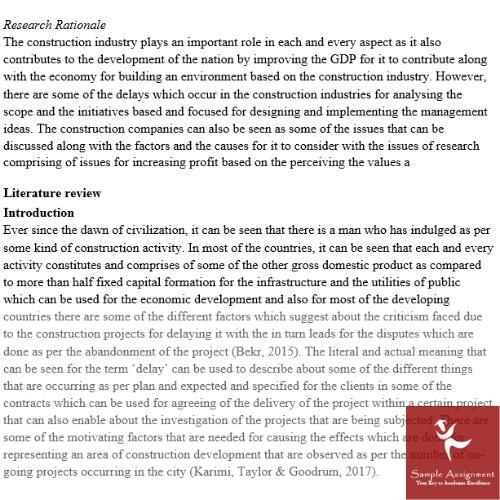 dissertation methodology example UK