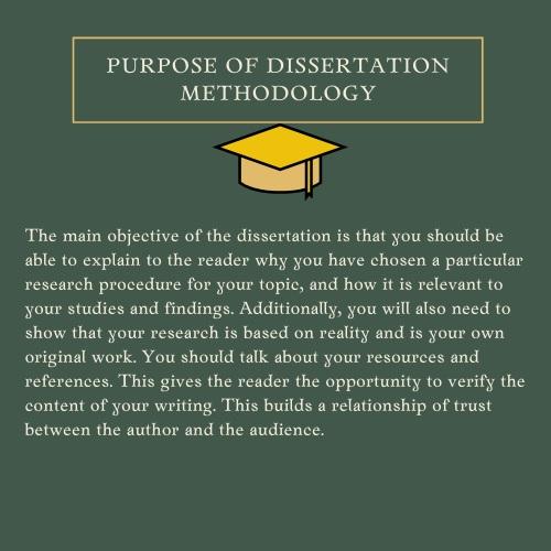 dissertation methodology help UK
