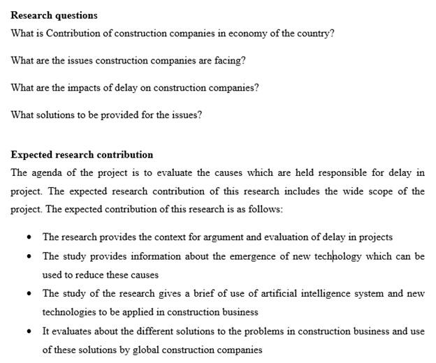 dissertation methodology question UK