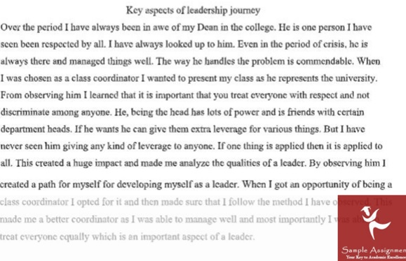 dynamic leader assignment sample