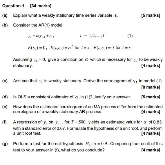 econometrics coursework help uk