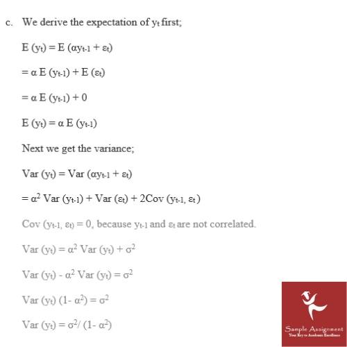 econometrics coursework sample UK